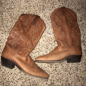 Dan Post Women's Leather Western Boots Sz 8.5 M